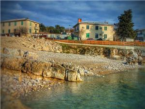 Apartmán Rajka Modrá Istria, Rozloha 52,00 m2, Vzdušná vzdialenosť od mora 15 m, Vzdušná vzdialenosť od centra miesta 10 m