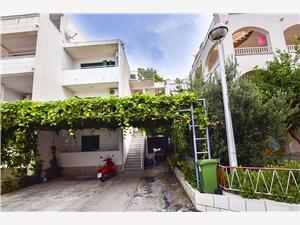 Apartmani Miljenko Makarska, Kvadratura 70,00 m2, Zračna udaljenost od centra mjesta 250 m