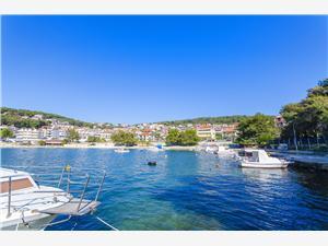 Ferienwohnungen Alen Trogir, Größe 60,00 m2, Luftlinie bis zum Meer 50 m