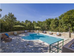 Villa Vlakovo Biljana Labin, Superficie 260,00 m2, Hébergement avec piscine