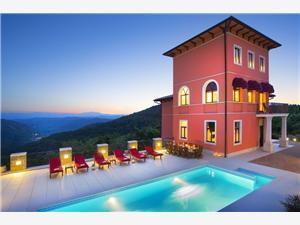 Villa Angelica Motovun, Größe 380,00 m2, Privatunterkunft mit Pool
