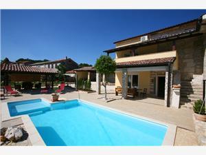 Villa WISTERIA Manjadvorci, Prostor 220,00 m2, Soukromé ubytování s bazénem