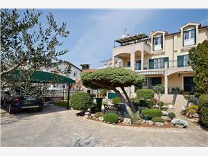 Apartamenty Ivan Vodice, Powierzchnia 70,00 m2, Odległość do morze mierzona drogą powietrzną wynosi 10 m