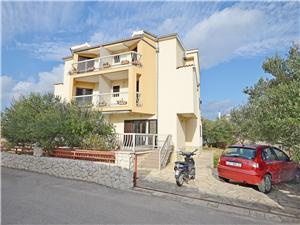 Apartamenty Mira Tribunj, Powierzchnia 55,00 m2, Odległość od centrum miasta, przez powietrze jest mierzona 290 m
