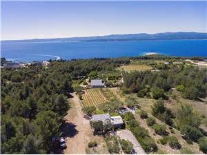 Ház Ivan Közép-Dalmácia szigetei, Autentikus kőház, Robinson házak, Méret 45,00 m2