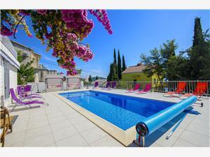 Beachfront accommodation Split and Trogir riviera,Book Tirkiz From 292 €