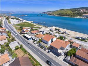 Beachfront accommodation Split and Trogir riviera,Book Branka From 102 €