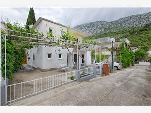 Apartmán Ilijana Podaca, Rozloha 52,00 m2, Vzdušná vzdialenosť od mora 80 m, Vzdušná vzdialenosť od centra miesta 100 m