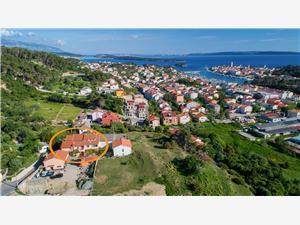 Апартаменты Darko Palit - ostrov Rab, квадратура 40,00 m2, Воздух расстояние до центра города 300 m