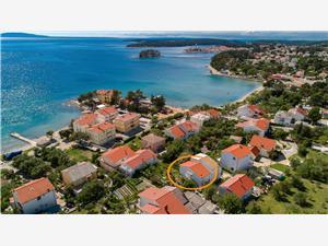 Apartman Ivica Banjol - Rab sziget, Méret 60,00 m2, Légvonalbeli távolság 150 m
