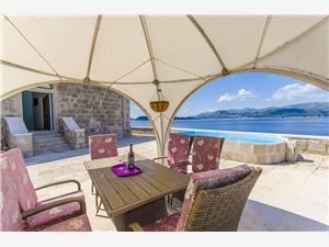 Alloggi con piscina Riviera di Dubrovnik,Prenoti Grebeni Da 410 €