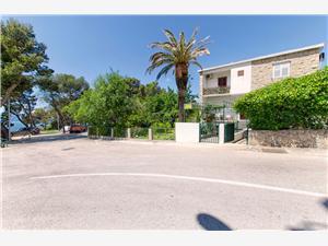 Ferienwohnungen Lidija Makarska Riviera, Größe 25,00 m2, Luftlinie bis zum Meer 50 m, Entfernung vom Ortszentrum (Luftlinie) 300 m