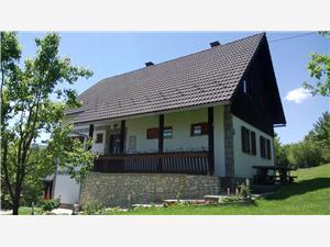 Apartmán Slavko Plitvice, Rozloha 86,00 m2