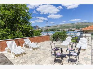 Апартаменты и Kомнаты Iva Trogir, квадратура 16,00 m2, Воздуха удалённость от моря 100 m, Воздух расстояние до центра города 200 m