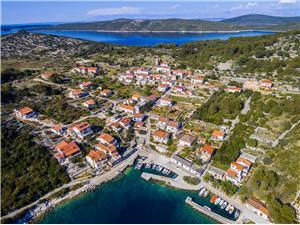 Apartmány Grozdana Ostrov Zverinac, Prostor 60,00 m2, Vzdušní vzdálenost od moře 150 m, Vzdušní vzdálenost od centra místa 50 m