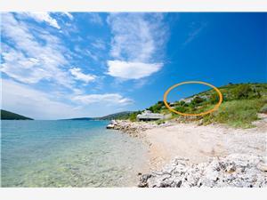 Apartmány Milan Modrá Istria, Rozloha 110,00 m2, Vzdušná vzdialenosť od mora 50 m