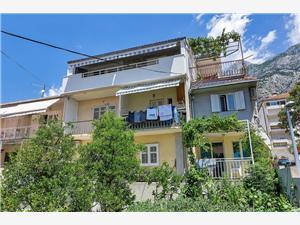 Apartman Neven Makarska, Kvadratura 35,00 m2, Zračna udaljenost od centra mjesta 800 m
