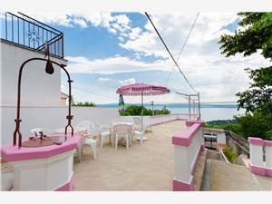 Vakantie huizen De Crikvenica Riviera en Rijeka,Reserveren Laura Vanaf 156 €