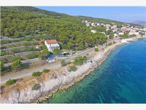 Apartmány Dragica Split a Trogir riviéra, Rozloha 55,00 m2, Vzdušná vzdialenosť od mora 20 m