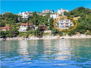 Ferienwohnungen Viky Kraljevica, Größe 23,00 m2, Luftlinie bis zum Meer 20 m
