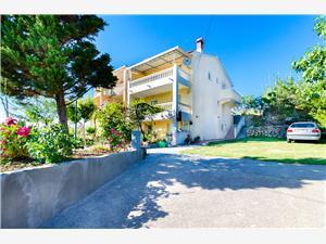 Apartmán Marija Lopar - ostrov Rab, Prostor 60,00 m2, Vzdušní vzdálenost od centra místa 700 m