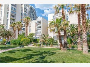 Appartementen Roza Omis, Kwadratuur 62,00 m2, Lucht afstand naar het centrum 500 m