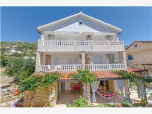 Апартаменты Ljiljana Zavala - ostrov Hvar, квадратура 32,00 m2, Воздуха удалённость от моря 200 m, Воздух расстояние до центра города 100 m