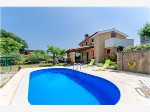 Дом Poljica Кварнер, квадратура 60,00 m2, размещение с бассейном