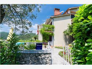 Apartamenty Mandica Rabac, Powierzchnia 62,00 m2, Odległość od centrum miasta, przez powietrze jest mierzona 400 m