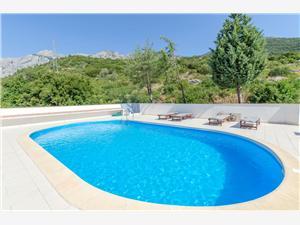 Appartements Spomenka Orebic, Superficie 35,00 m2, Hébergement avec piscine