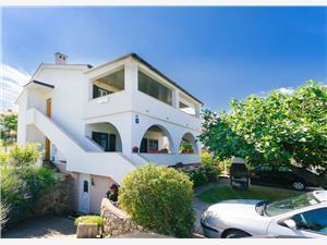 Apartman Neda Punat - otok Krk, Kvadratura 90,00 m2, Zračna udaljenost od centra mjesta 500 m