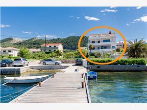 Apartament Ljerka Barbat - wyspa Rab, Powierzchnia 35,00 m2, Odległość do morze mierzona drogą powietrzną wynosi 50 m