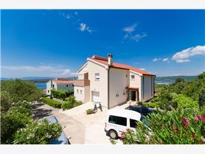 Apartmani Miljenko Punat - otok Krk, Kvadratura 35,00 m2, Zračna udaljenost od centra mjesta 300 m