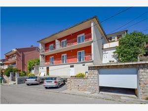 Apartmány Marica Senj, Rozloha 55,00 m2, Vzdušná vzdialenosť od mora 250 m, Vzdušná vzdialenosť od centra miesta 600 m