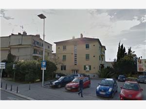 Ferienwohnung Artorius Split, Größe 40,00 m2, Entfernung vom Ortszentrum (Luftlinie) 500 m