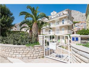 Апартаменты и Kомната Alen Duce, квадратура 16,00 m2, Воздуха удалённость от моря 180 m