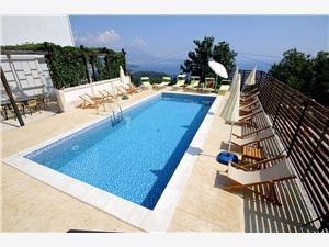 Apartmaji Oktopus Montenegro, Kvadratura 44,00 m2, Namestitev z bazenom