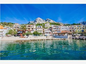 Apartamenty Villa Skala Riwiera Makarska, Powierzchnia 45,00 m2, Odległość do morze mierzona drogą powietrzną wynosi 60 m