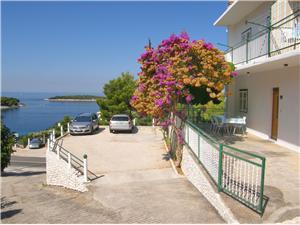 Ferienwohnungen Dijo Primosten, Größe 30,00 m2, Luftlinie bis zum Meer 110 m, Entfernung vom Ortszentrum (Luftlinie) 700 m