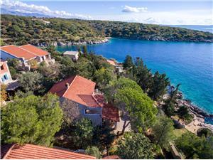 Haus Silvestra Die Norddalmatinischen Inseln, Größe 100,00 m2, Luftlinie bis zum Meer 20 m