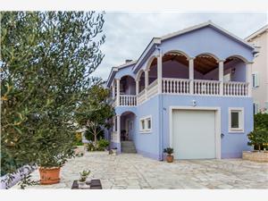 Apartmanok és Szobák Slavica Zadar, Méret 14,00 m2