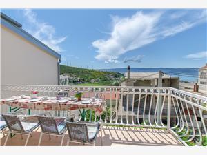 Apartmán Marica Dugi Rat, Prostor 90,00 m2, Vzdušní vzdálenost od centra místa 300 m