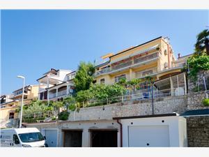 Appartementen Gracijela Rabac, Kwadratuur 12,00 m2, Lucht afstand naar het centrum 300 m