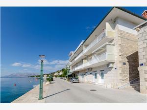 Apartman Mery Povlja - Brac sziget, Méret 28,00 m2, Központtól való távolság 20 m