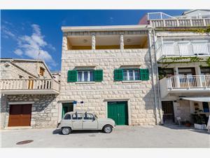 Apartamenty Franka Povlja - wyspa Brac, Powierzchnia 80,00 m2, Odległość od centrum miasta, przez powietrze jest mierzona 50 m