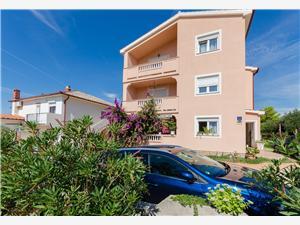 Lägenheter Jasmin Barbat - ön Rab, Storlek 50,00 m2, Luftavstånd till havet 150 m