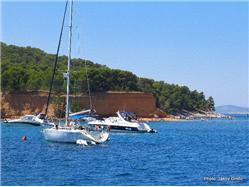 Vrgada Uvala Lopatica - eiland Kornat Plaža