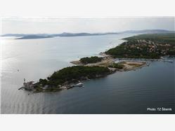 Jadria Krapanj - ostrov Krapanj Plaža