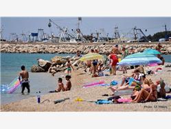 Bristak Zirje - île de Zirje Plaža