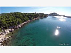 Zamalin Zirje - île de Zirje Plaža